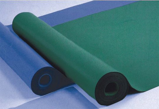 Colorful Anti Static Mat / ESD Table Mat With Excellent Grounding Properties